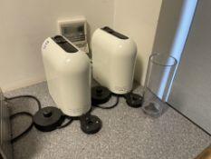 2 x Nespresso machines