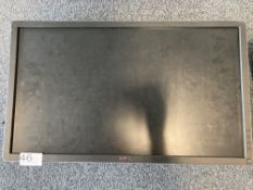 Dell P2714HC 27in flat screen display