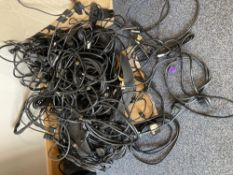 Quantity of various cables, as photo