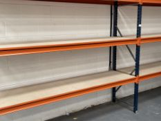 2 x Bays of Mexalux ZE65 3 Tier Light Duty Racking | 230cm x 60cm x 200cm