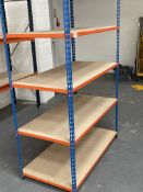 Bay of Riveto 5 Tier Light Duty Racking