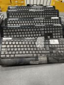 4 x Microsoft Wireless 850 Keyboards w/ Wireless 1000 Mice