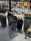 Quantity of Plastic Waste Bins as per pictures