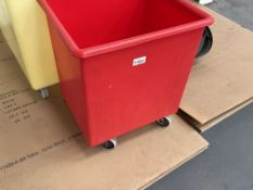 2 x Mobile Plastic Waste Bins
