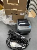 Zebra GK420D Desktop Barcode/Label Printer w/ Power Lead