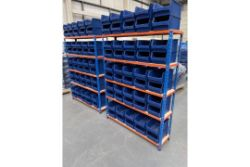 Shelving, picking bins, label printers, barcode scanners,  PCs, security bars, & Other Equipment of Fulfilment Centre