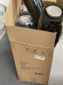 5 x Rolls of Black Shrink Wrap
