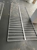 2 x Metal Window Security Bars | 276cm x 130cm