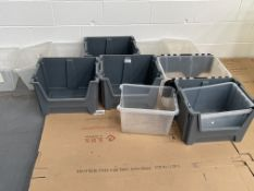 12 x Various Plastic Storage Boxes/Containers
