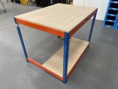 Bigdug Packaging Station w/ 1/2 Undershelf   122cm x 77cm x 93cm