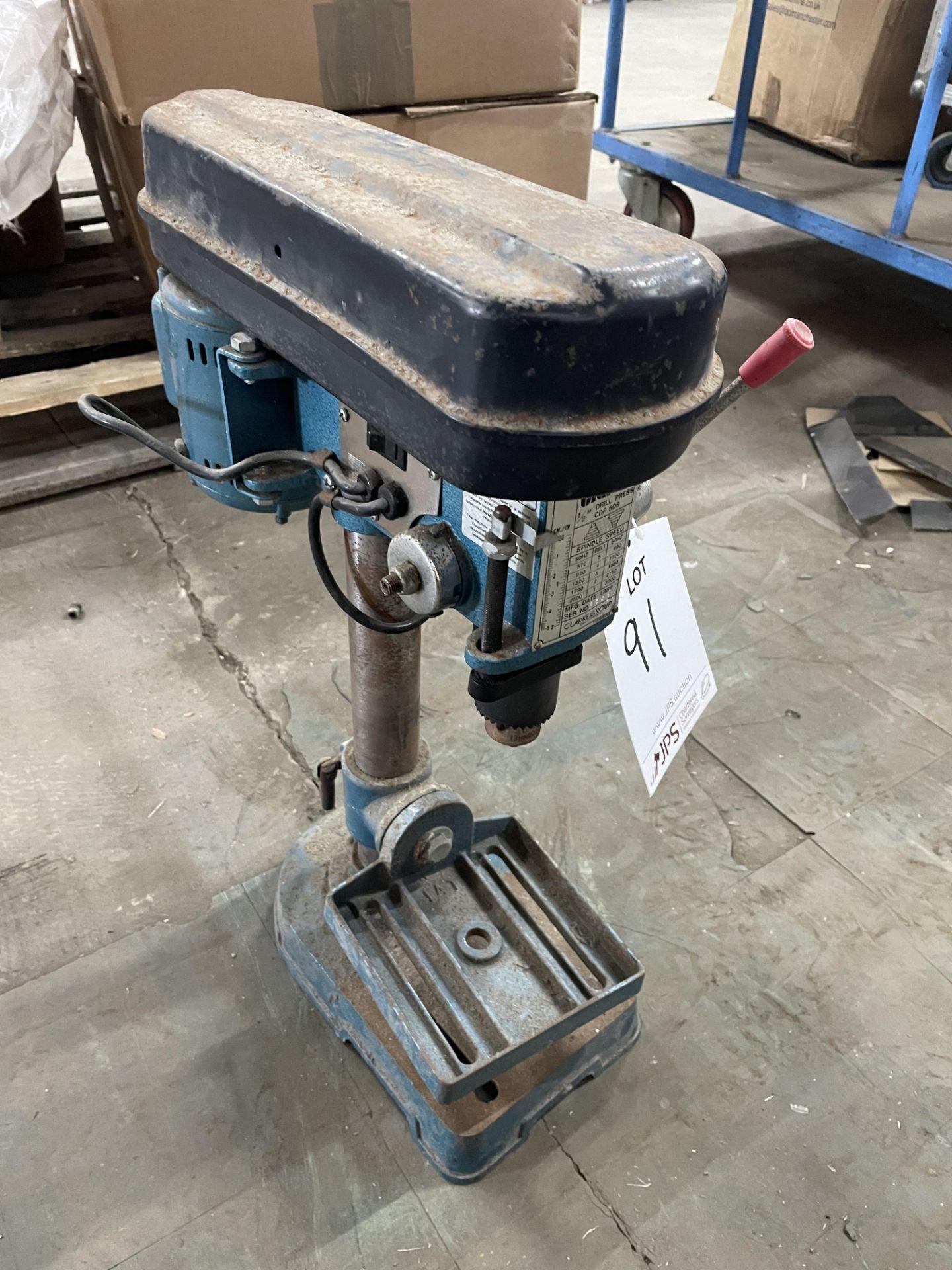 Clarke Metalworker CDP 5DB Pillar Drill | YOM: 1989 - Image 3 of 3