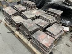 2 x Pallets of Containing Approximately 300 x Used Rosemary Roofing Tiles