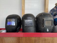 3 x Welding Masks/Helmets