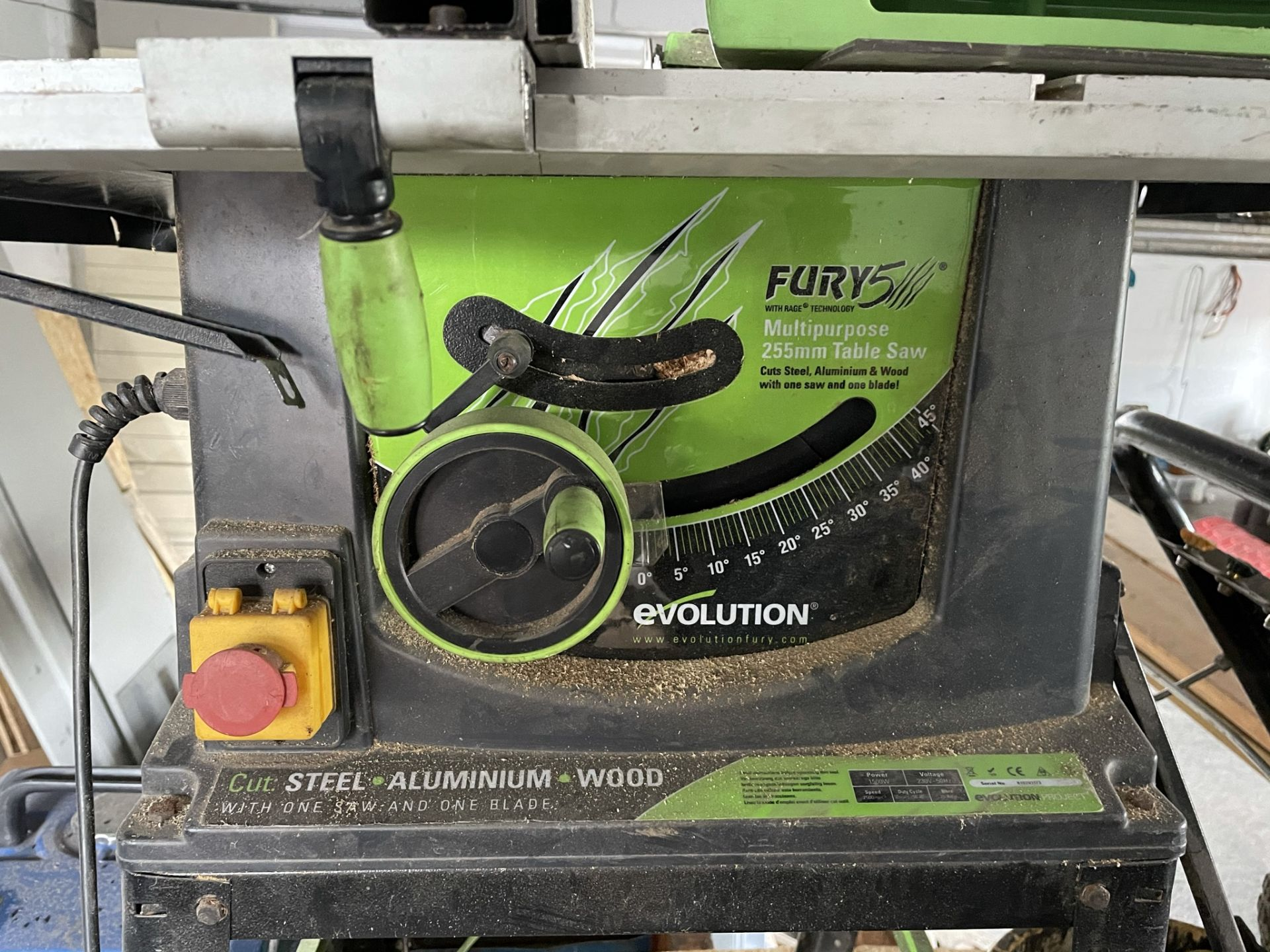Evolution Fury 5 Multi-Purpose Table Saw - Image 2 of 2