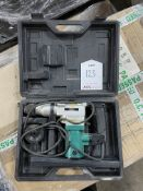 BlackSpur Rotary Hammer Drill in Case