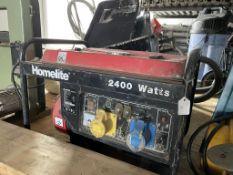 Homelite HGN2400 Gasoline Portable Generator