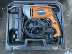 Worx WX312.1 Hammer Drill w/ Case