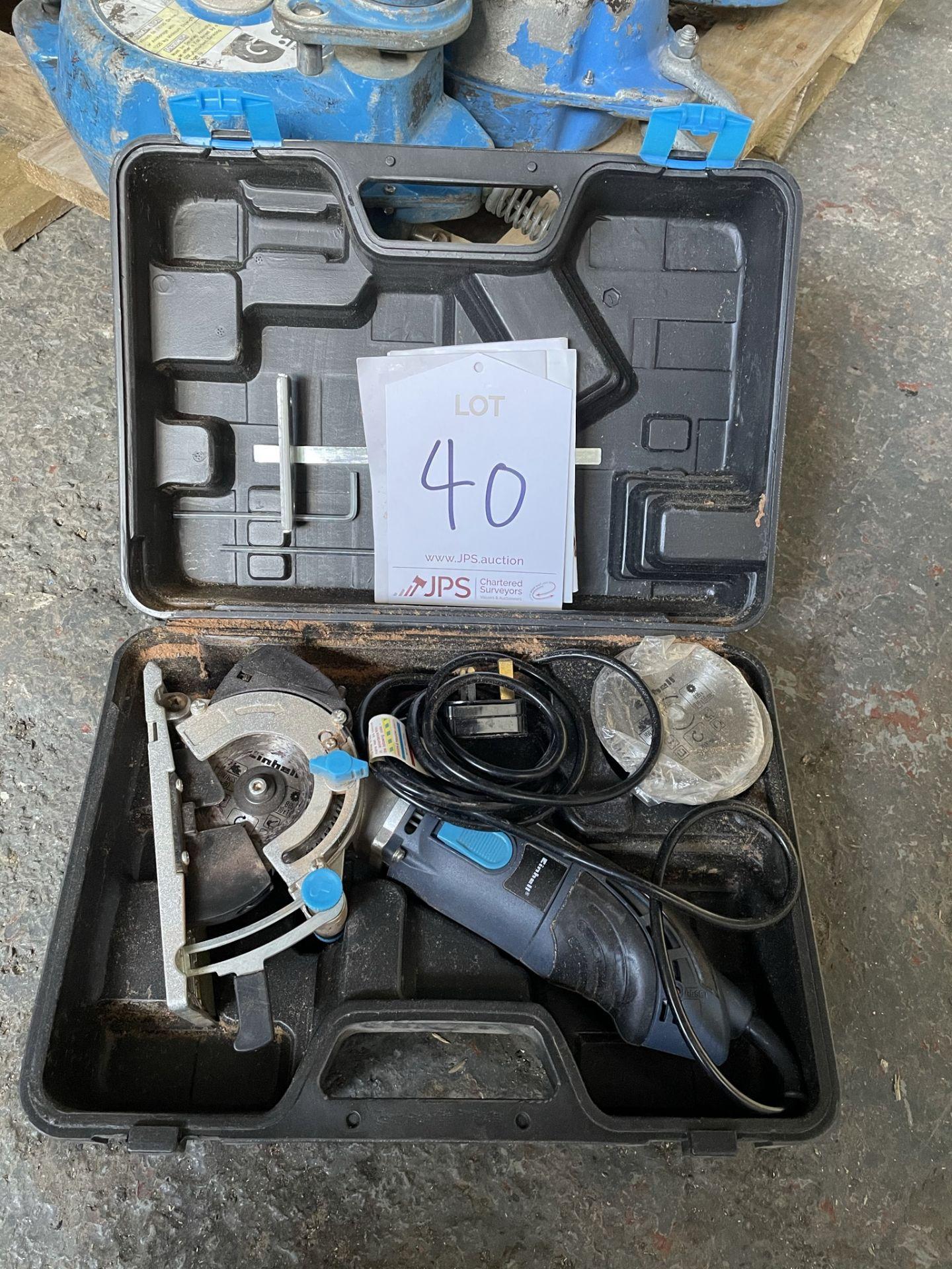 Einhell BT-CS 860 L Mini Circular Saw w/ Case