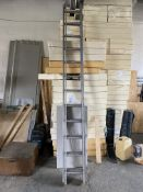 Unbranded Double Extendable Step Ladder