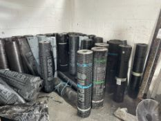 Approximately 40 x New/Used Rolls of Imper Roofing Felt as per pictures | Various Sizes/Thicknesses