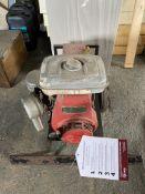 Unbranded Mobile Gasoline Generator w/ Honda G400 4 Stroke Engine