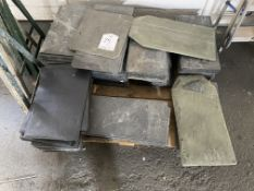 Pallet of Various Slate Roofing Tiles as per Pictures