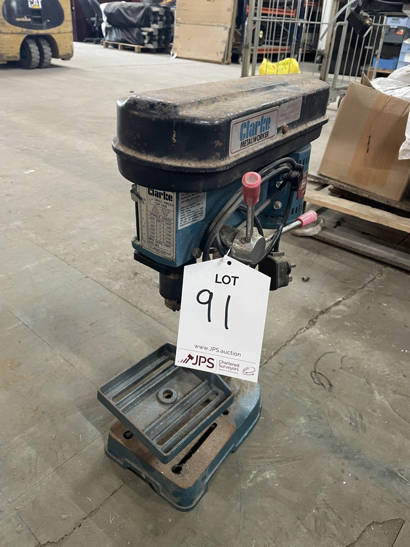 Clarke Metalworker CDP 5DB Pillar Drill | YOM: 1989
