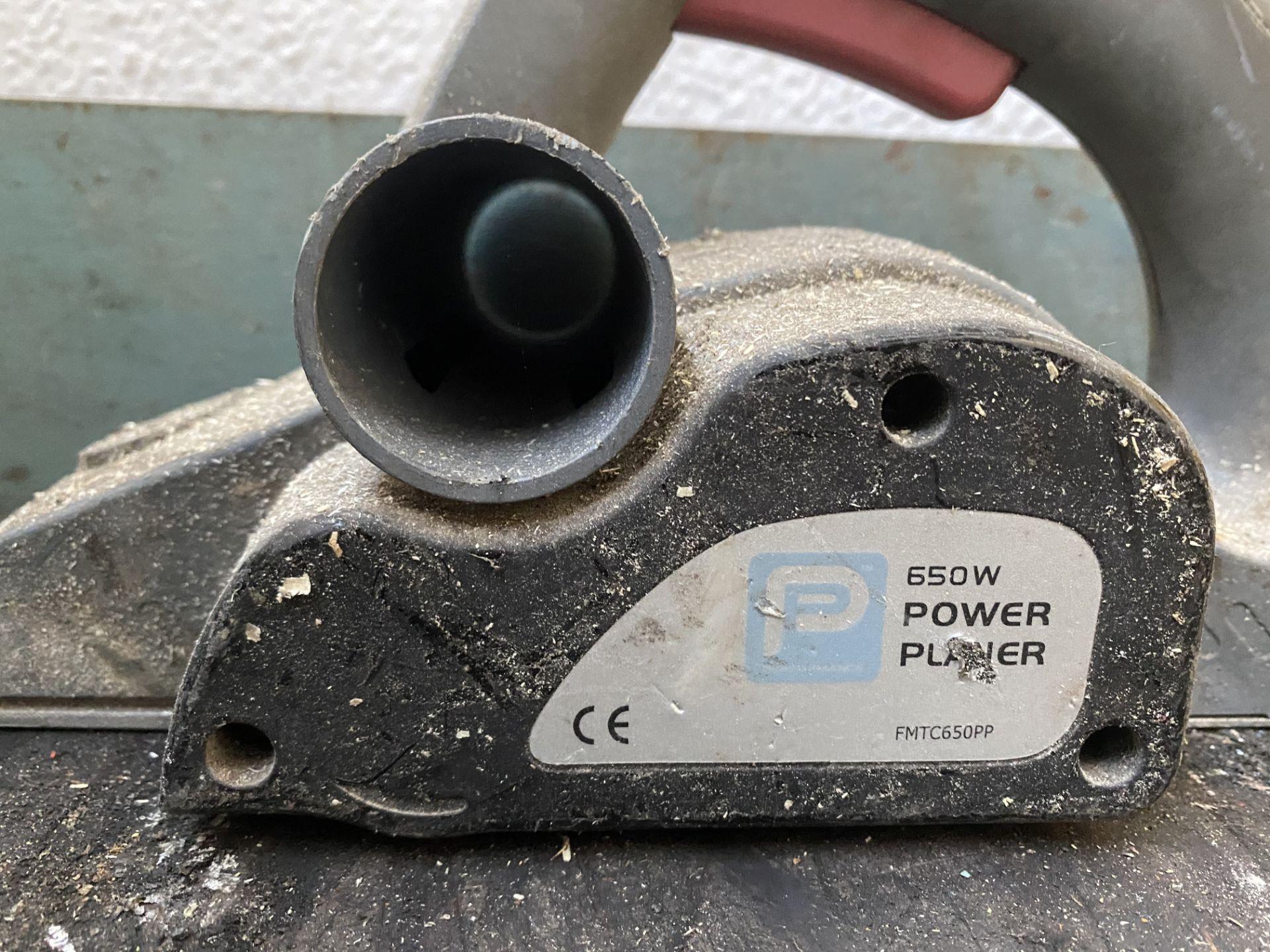 FMTC650PP Power Planer - Image 5 of 6