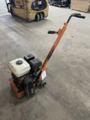 Unbranded Heavy Duty Petrol Powered Floor Grinder w/ Honda GX160 Engine