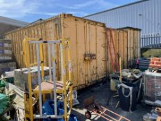 3 x 20ft Shipping Containers
