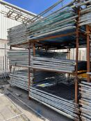 Approximately 200 x Site Fencing Panels w/ A Quantity of Bases - As Pictured