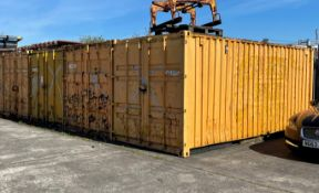 4 x 20ft Shipping Containers