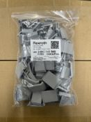 55,000 x Rexroth 3842548846 30mm x 30mm Cap Covers in Grey | 22 x boxes of 2,500
