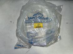 21 x 25m Reels of 12mm Saint Gobain 4190062/760650 Versilic Fluid Transfer Silicone Tubing
