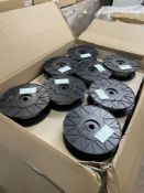 64 x Reels of Medi 1007/1569 AWG24 White PVC Process Wire