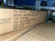 1,750 x 000361 Medium Duty Plastic Envelope Bags | 500 x 750mm