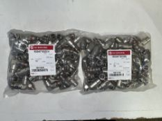 Approximately 320 x Various Imi Norgren Straight/Elbow Connectors