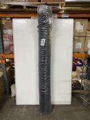 Roll Of Black Fabric   W: 195cm