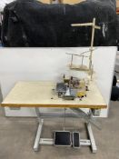 Mauser 9652-185M Spezial Sewing Machine w/ Stand & Table Top