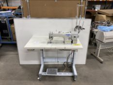 Juki DDL-900A-S Direct Drive Lockstitch Industrial Sewing Machine w/ Stand & Table Top