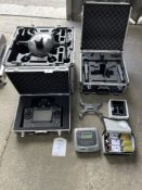 Yuneec Tornado H920 drone YOM 2018 and accessories as listed