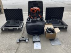 Yuneec H520 drone YOM 2019 and accessories as listed