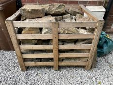 Pallet Crate of Walling Stone - As Pictured - NO VAT ON HAMMER