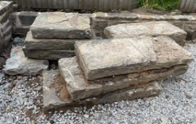 11 x Various Stone Copings - As Pictured - NO VAT ON HAMMER