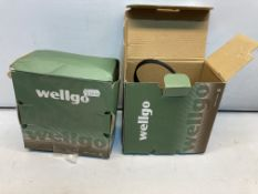 2 x Pairs of Wellgo 961 Bicycle Road Pedals