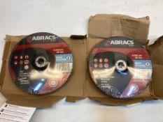 10 x Abracs Proflex F27 Metal Cutting Discs