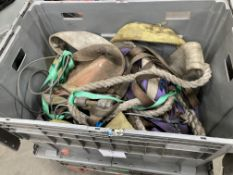 Various Lifting Equipment As Pictured | Straps | Rope | Shackles