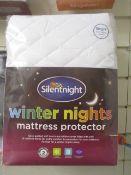50 x Brand New & Sealed Silent Night Mattress Protectors
