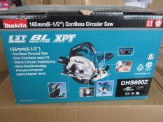 Brand New Makita DHS660Z Circular Saw | RRP £149.99