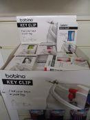 100 x Brand New Bobino Key Clips